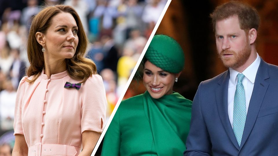 Kate Middleton's secret messages to Prince Harry as Meghan Markle plans return to the limelight
