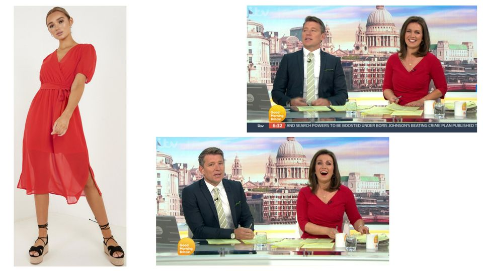 Susanna Reid's outfits from Good Morning Britain - and where to buy them cheaper on the high street