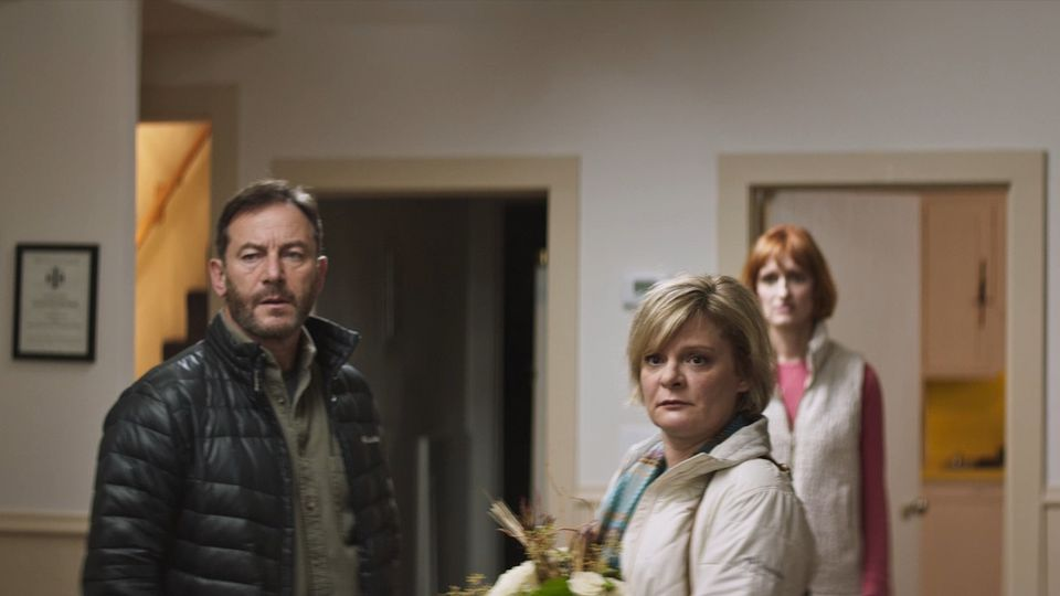 Jason Isaacs Deals With The Aftermath Of Gun Violence In The Mass Trailer