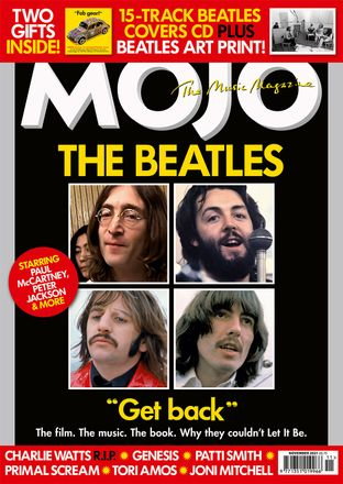 MOJO 336 cover, featuring The Beatles in January, 1969.