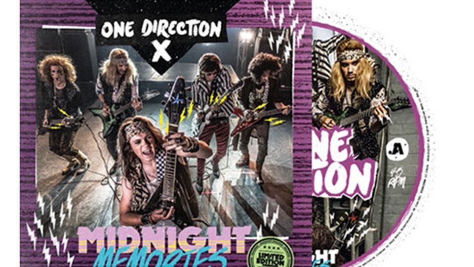 One Direction Go Hair Metal For Special 'Midnight Memories