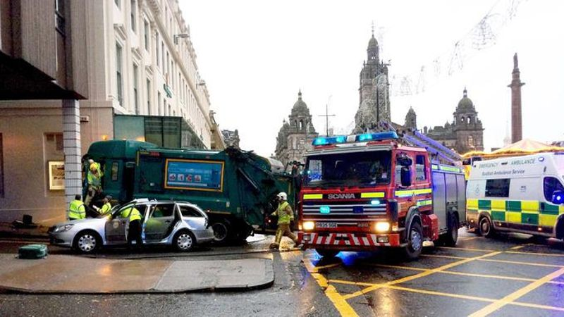 Compensation bid from council over Glasgow bin lorry crash dismissed by judge