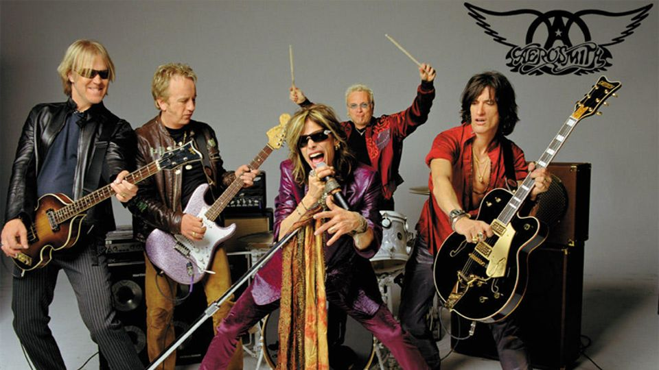 Aerosmith Unveiled As Third Download Festival 2014 Headliner