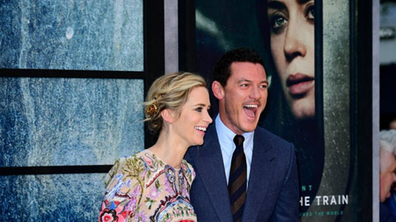 WATCH: Emily Blunt and Luke Evans talk The Girl On The ...