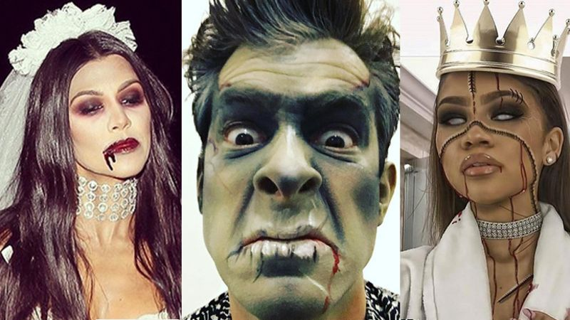 The best and scariest celebrity Halloween costumes