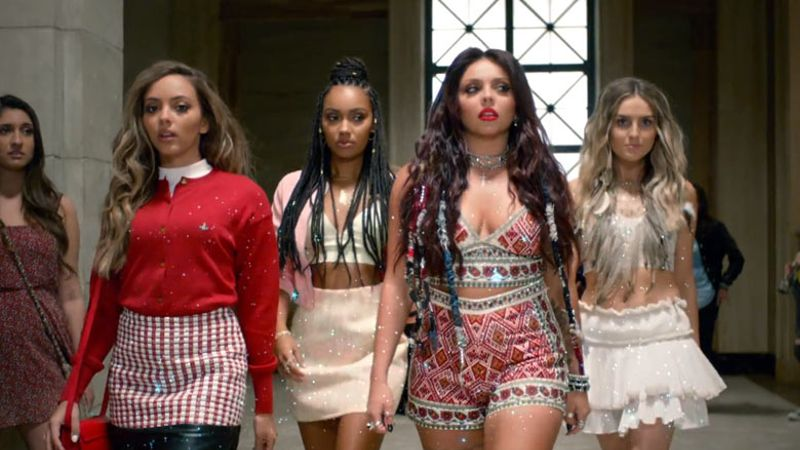 Little Mix finally unleash their 'Black Magic' video - WATCH