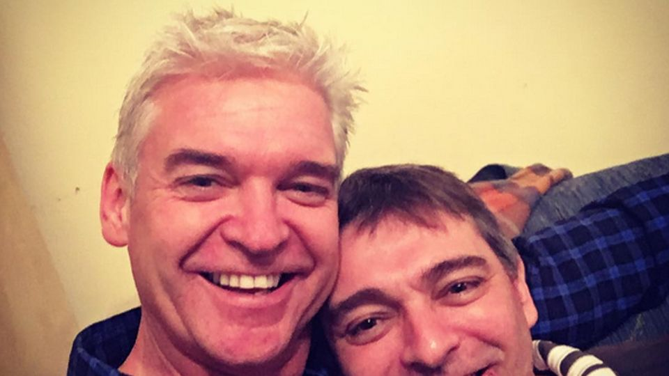 Coming Home For Christmas.Philip Schofield S Brother Is Coming Home For Christmas
