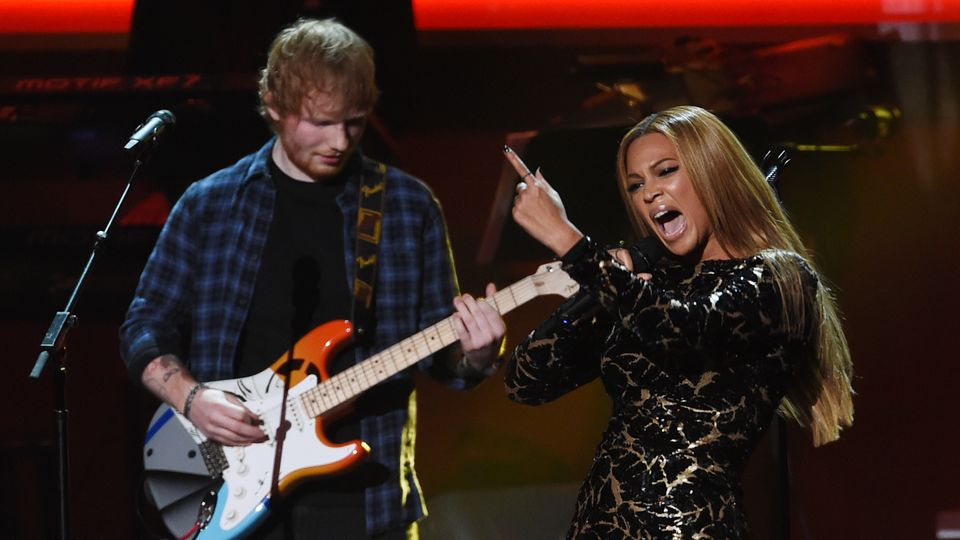WATCH: Beyonce and Ed Sheeran duet for a Stevie Wonder